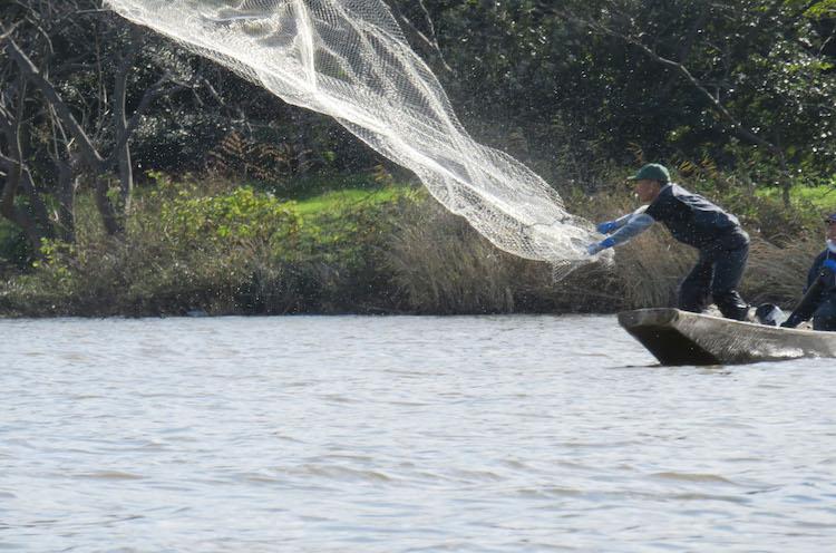 鳥屋野潟漁業協同組合の方々