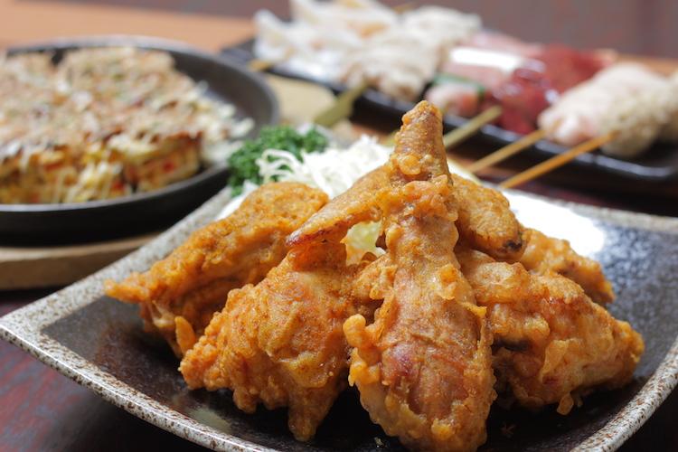まんまや けやき通り店・新潟駅前店の『若鶏半身の五泉揚げ』