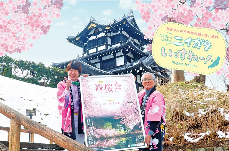 取材におじゃましたのは2月でした。桜の花は合成だよ。あしからずね