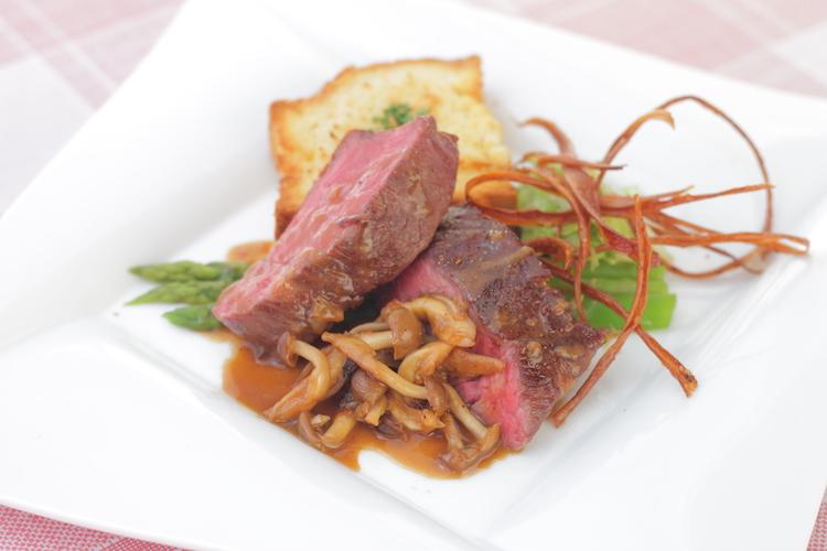 亀田店提供 『低温熟成牛のマテラソース』