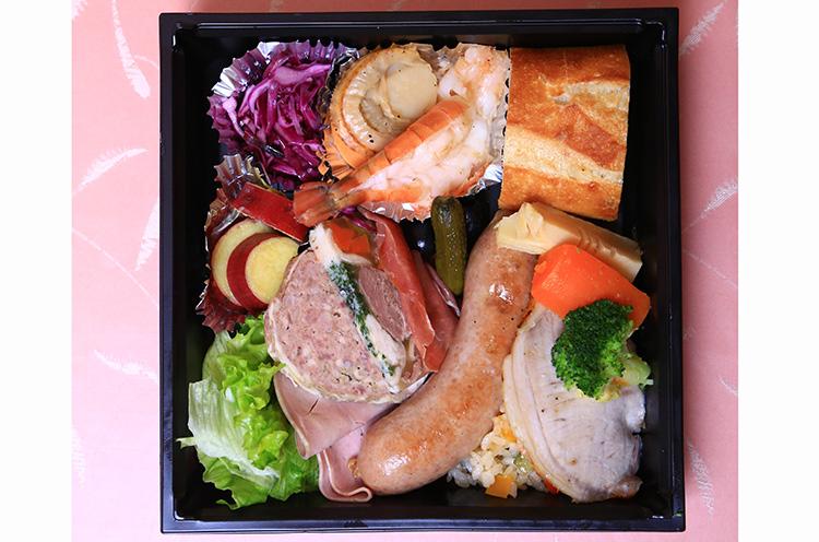 フレンチ食堂 Brasserie Porc の『フレンチ惣菜弁当』