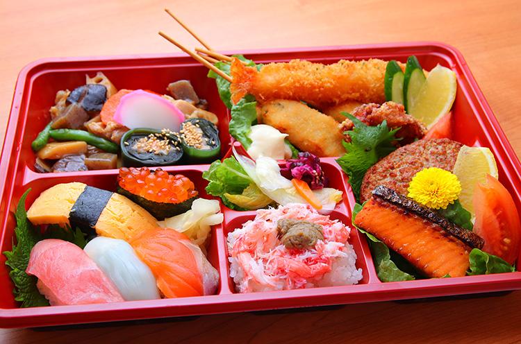 【現在休店中】おさかな亭長岡店の『特製弁当』