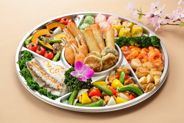 ホテル日航新潟 中国料理 桃李の『春のオードブル』