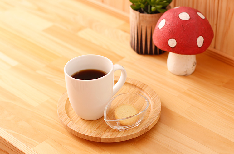 『Ojigo珈琲』( 380円税込)。とっても飲みやすいコーヒーです。