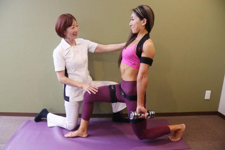 引き締まったしなやかな体を叶えてくれる磁気加圧トレーニング