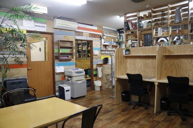 勉強や仕事などで活用できるレンタルスペースも用意