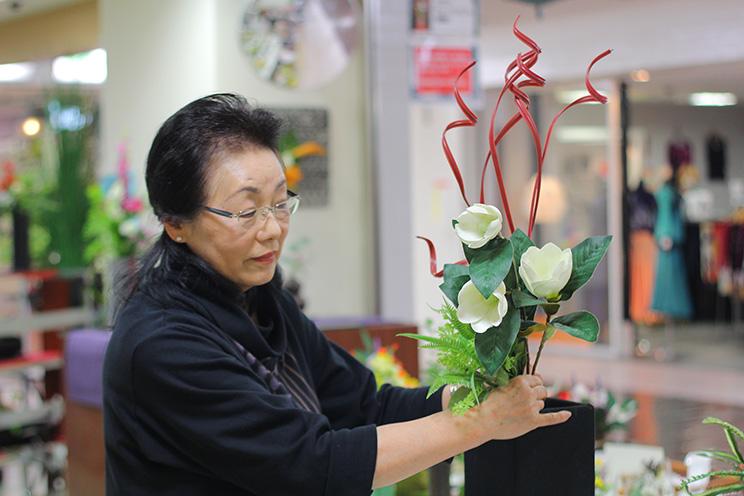 【フラワーデザイナー】アートフラワー 楽花/和田初美さん