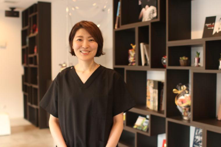 歯科医師/歯学博士/ふるまち歯科 副院長・中村 恵子先生