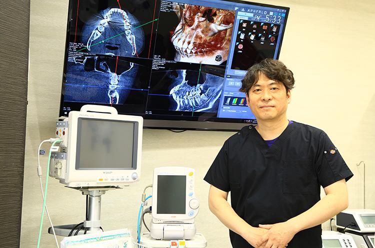 【歯科医】ノエルデンタルクリニック万代/院長 山田一穂さん