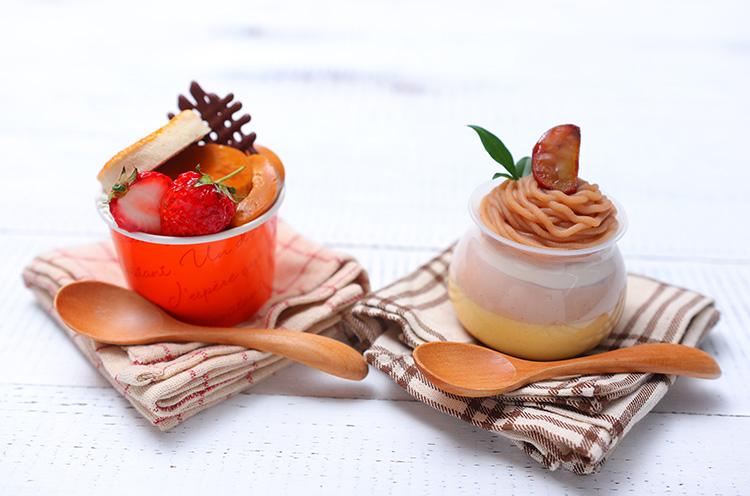 イタリア栗使用『プリンモンブラン』、しっとりスコーンで挟んだ『スコーンとプリン』も同時発売