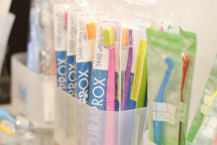 虫歯を予防するアイテムが充実!