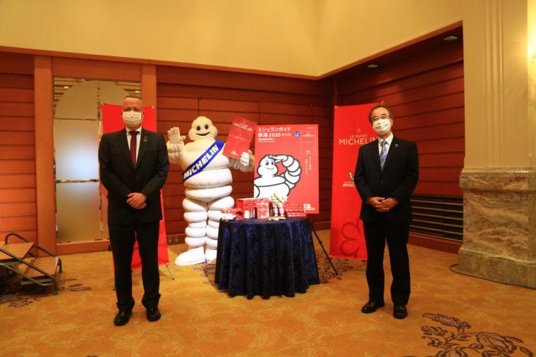 日本ミシュラン株式会社代表取締役社長 ポール・ペリニオさんと花角知事