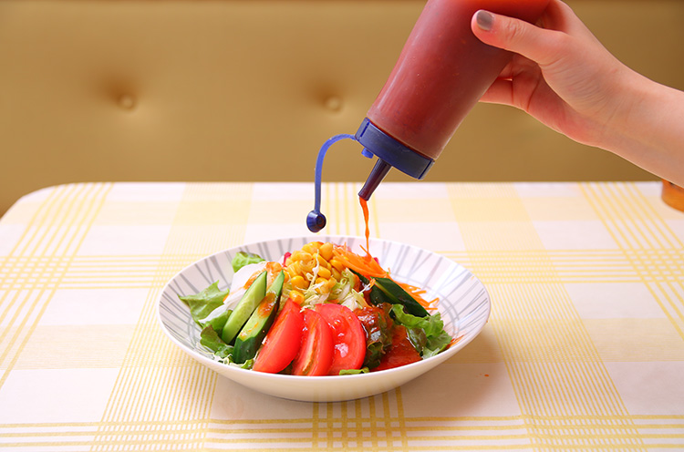 酸味が少なく子どもでも食べやすいドレッシング