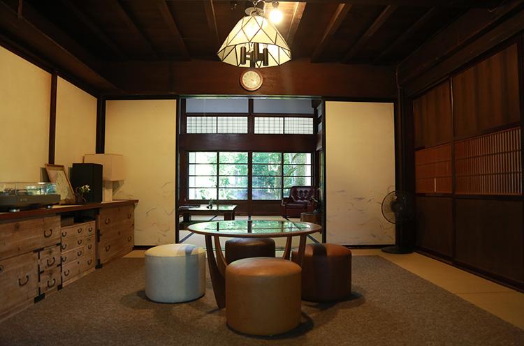 部屋は5つ用意され、それぞれで異なった雰囲気を楽しめます