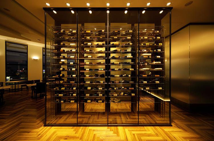 特注で作られたワインセラー