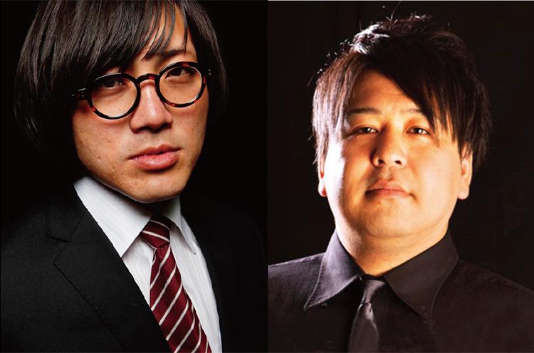 左/松原タニシ (c)Fujisato Ichiro 右/ありがとう ぁみ (c)YOSHIMOTO KOGYO CO.,LTD.