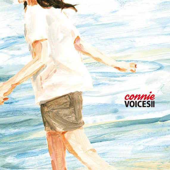 connie『VOICES II』 税込2,200円/Fall Wait Records) 収録曲:1.『サファイアの洞窟』feat.婦人B(婦人倶楽部) 2.『聡明なLove』feat.中川理沙(ザ・なつやすみバンド)3.『私スプリング』feat.髙橋麻里 4.『笑顔をつれて』feat.南波志帆 5.『君とLove With You!』feat.中島愛