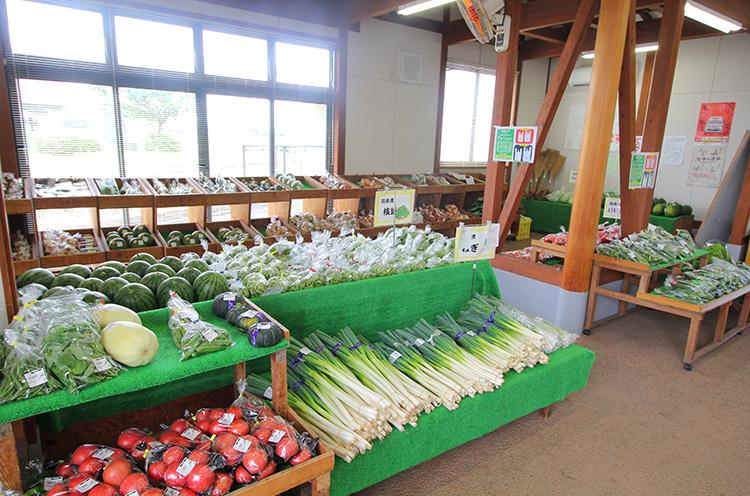 スタッフさんによると「開店10分前にならないとどんな野菜が並ぶのか分からない」とのこ