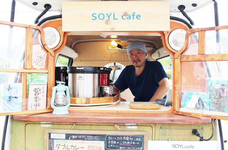SOYLcafeのキッチンカー