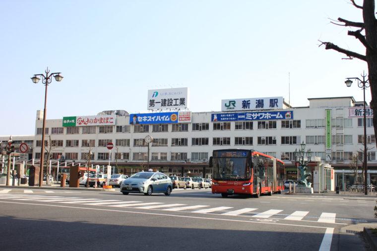 もうすぐ撤去工事が本格的にはじまるJR新潟駅