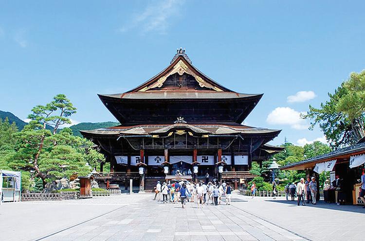 長野の善光寺は、やはり行っておかねば!