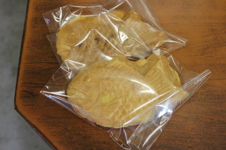 冷凍鯛焼き(120円税込)