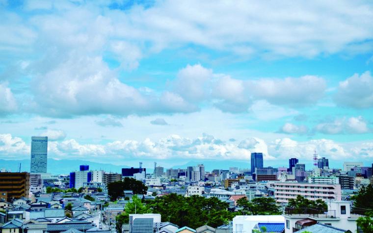 日和山展望台から(フォトグラファー片桐悠太さんの作品)