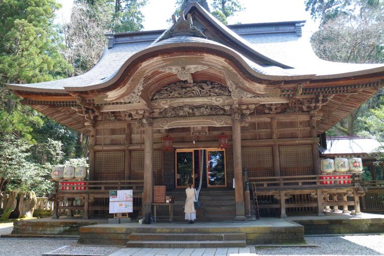 子授け・安産をはじめさまざまなご利益を授かると言われる青海神社