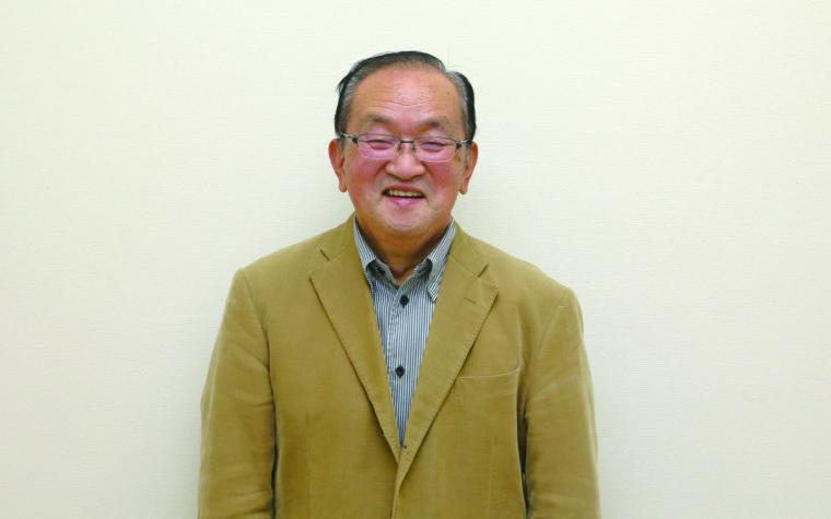 新潟市東区歴史浪漫プロジェクト実行委員会 副実行委員長・嶋田正章さん