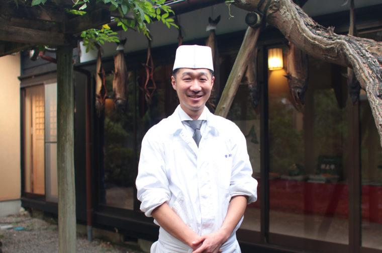 社長兼料理人として能登新を支える山貝誠さん。地域貢献活動にも積極的に参加しているんです