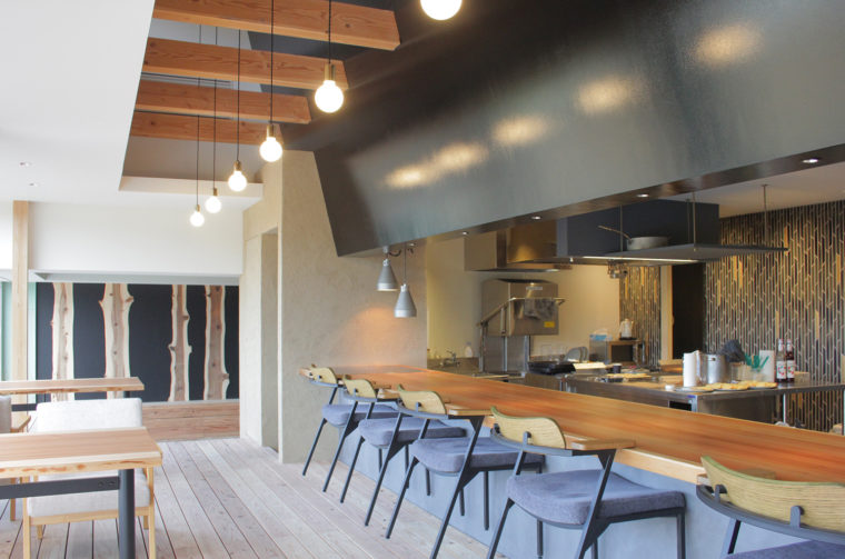 2021年春にオープンするレストラン、kitchen105