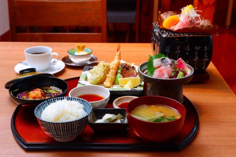 レストラン湯楽『越後の恵み膳』3,000円税抜