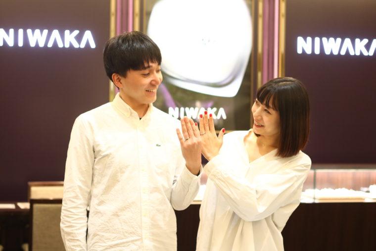 田村さんの神サポートでなんとか(?)結婚指輪も決定!