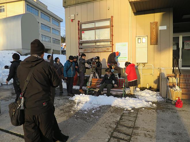 長岡市山古志虫亀の太田簡易郵便局での撮影。劇中では診療所として登場しました
