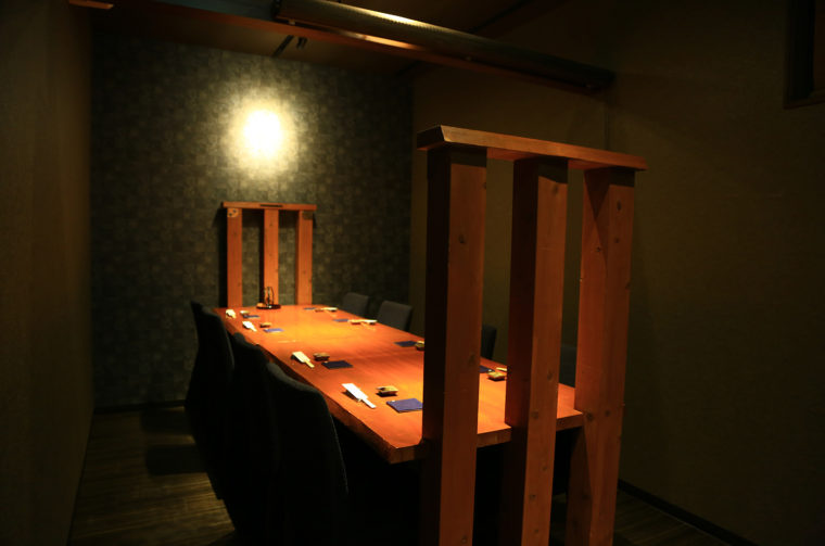 接待や記念日利用にもぴったりな個室も用意
