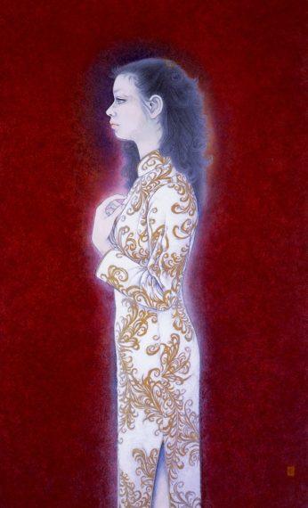 川合清《麗》(1983年)
