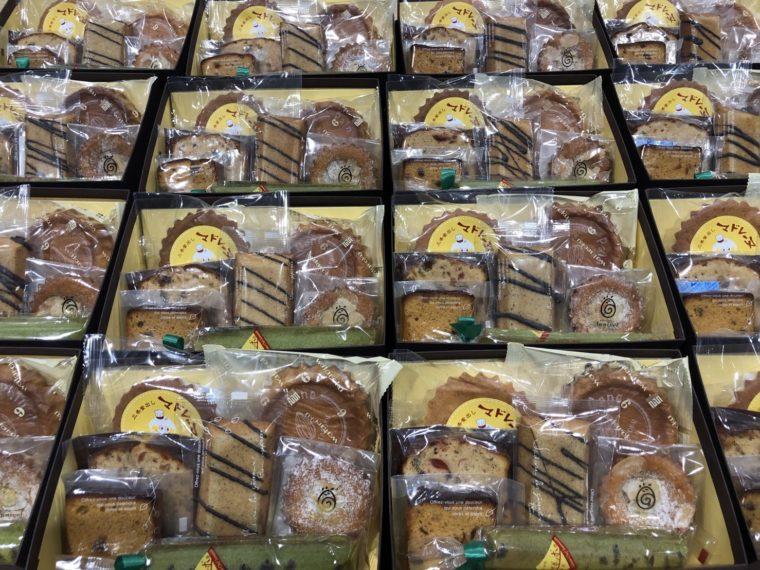 人気スイーツ店・7店舗の焼き菓子がひとつの箱に!