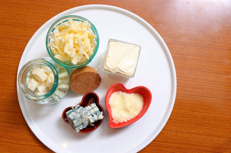 さまざまなチーズが融合