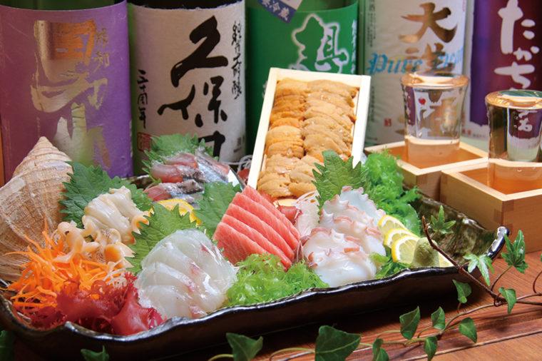 魚介の素の旨さが分かる刺身は必食