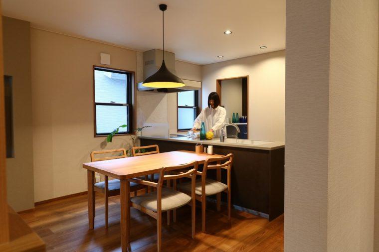 キッチンが広くて使いやすい!