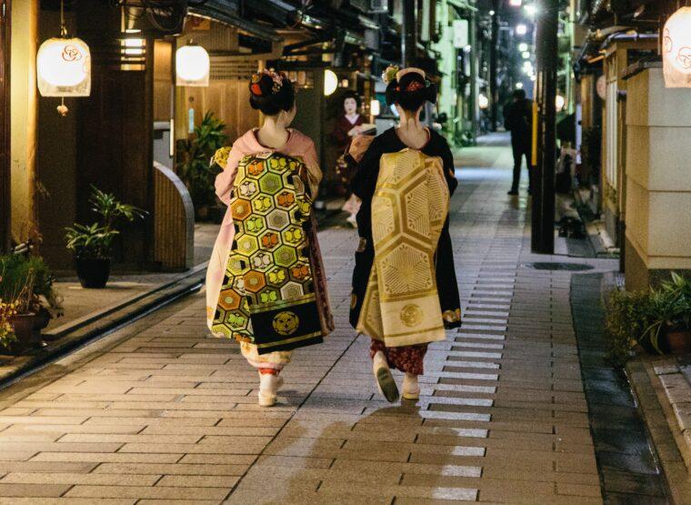 「京都の舞妓さん。後ろ姿もとっても素敵!」