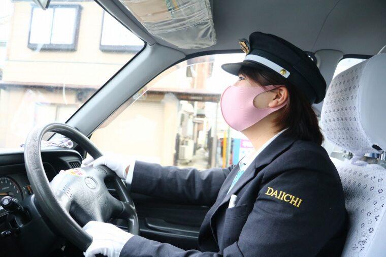 タクシーが出発!