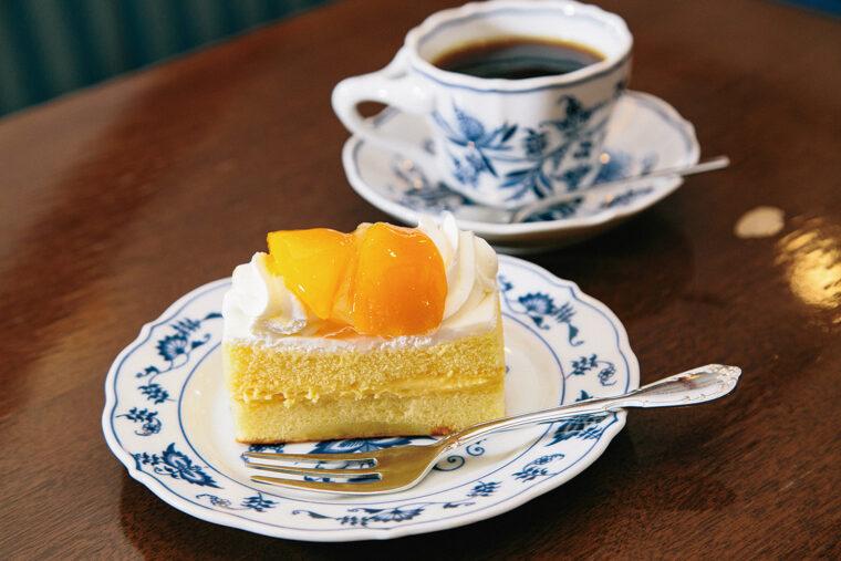 長崎で初めての生クリームを使ったケーキなんだって!