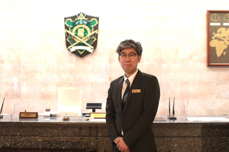 副支配人・樋口さん