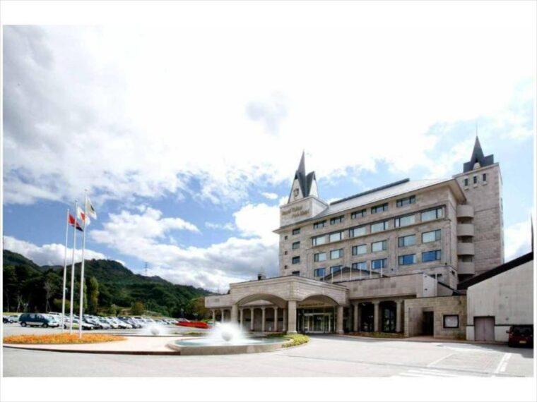 美しい高原にあるリゾートホテルです