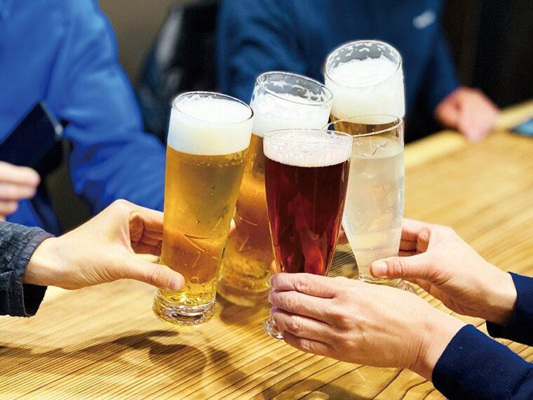 バス通勤なら帰りにお酒を飲んでも安心!