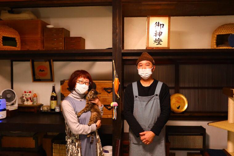 店主・神田さんとスタッフさん