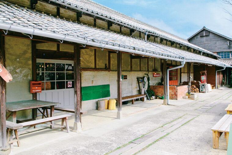 建物の一部は国の有形文化財に登録されているんだって。