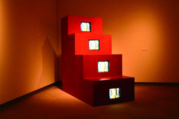 『デュシャンピアナ:階段を降りる裸体』1975-76/1983年 富山県美術館蔵