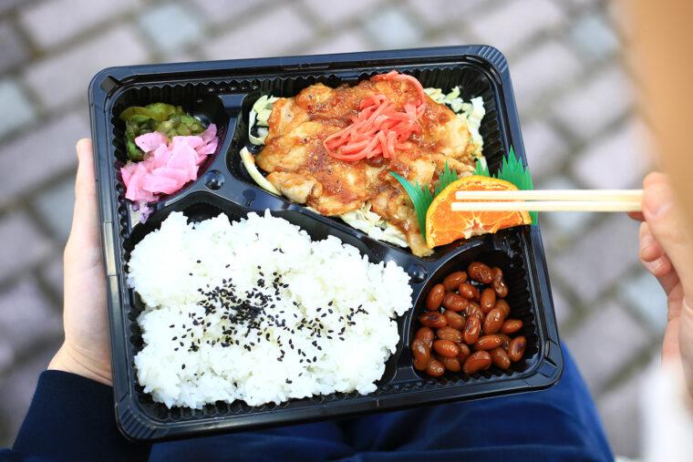 『生姜焼き弁当』(298円)